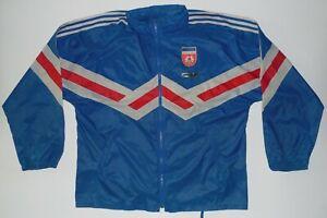 Yugoslavia Vtg Adidas Football Rain Jacket Jersey Match Worn 1990