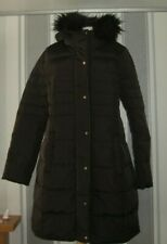 LA REDOUTE COLLECTIONS uk size 18 Long Down Padded Jacket  Missing Belt.