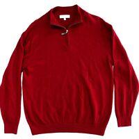 Turnbury Black Extra Fine Merino Wool 14 Zip Long Sleeve