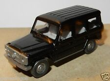 MICRO WIKING HO 1/87 MERCEDES 230 GE noire no box