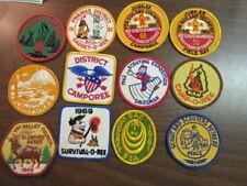 1960's Boy Scout Patch Lot of 12     c3