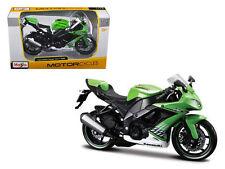 MAISTO MOTORCYCLE 1:12 2010 KAWASAKI NINJA ZX-10R Green 31187
