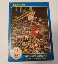 Michael Jordan ROOKIE CARD Star Court Kings 84-85 5x7 Poor condition