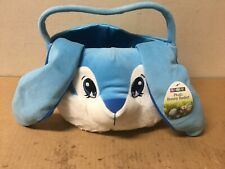 Rite Aid Easter Plush Easter Basket Blue
