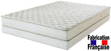 Pack matelas COUCHAGE LATEX 140x190 + sommier tapissier