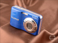 Pretty Blue Fujifilm A170 10.2MP Digital Camera takes AA Batteries - 9391