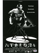 Tim Burton Signed Ed Wood Authentic Autographed 11x14 Photo PSA/DNA #AB89744