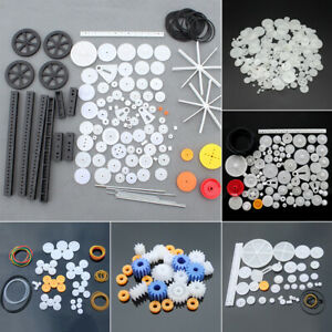 Mixed Toothed Wheels Gear Sector Set Module DIY Toy Car RC Robot Hobbies Parts