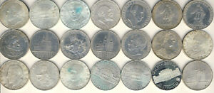 Österreich 25 Schilling # 21 Münzen # Silber
