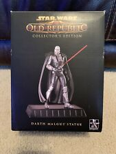 "Star Wars The Old Republic Exclusive Gentle Giant Darth Malgus 9"" Statue NEW"