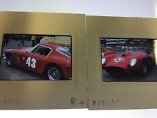 35mm Slides Ferrari Convertible Sports 1974 Car Show Lot 2 Kodachrome