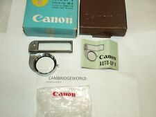 CANON AUTO UP V RANGE FINDER COUPLED CANON CLOSE UP LENS for 35mm F1.8 LENS