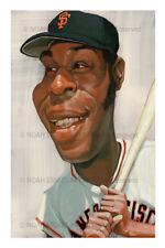 Willie McCovey San Francisco GIants Sports Art Print by Noah Stokes
