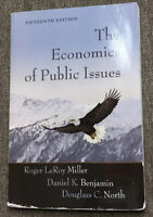 The Economics of Public Issues by Daniel K. Benjamin, Douglass C. North and...