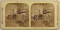 Francia Parigi Esposizione Universale 1878 Galerie Foto Stereo Diorama Vintage