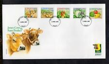 JERSEY FDC - 2001 Jersey Cows & Farm Produce