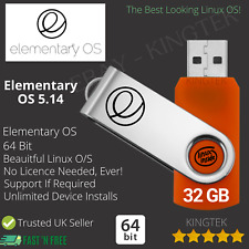 Linux Elementary OS 5.14 Hera | 64 Bit Live Bootable USB | PC Operating System