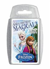Disney Frozen Top Trump Trumps Playing Card Game Fun For Childrens Kids