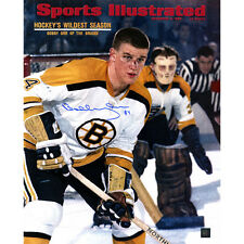 Boston Bruins Bobby Orr Autographed 16x20 Photo Great Northern Coa and Hologram