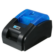 Mini BT 58mm Thermal Label Barcode Sticker Printer Portable Environmentally Y2F1
