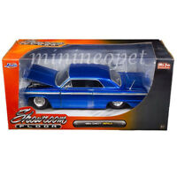 JADA SHOWROOM FLOOR 98908 1964 64 CHEVROLET IMPALA 1/24 DIECAST MODEL CAR BLUE