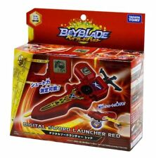 New Takara Tomy Beyblade BURST B-94 Digital Sword Launcher (Red)