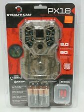 Stealth Cam PX18CMO 8.0 MP Game camera with Batteries & SD Card