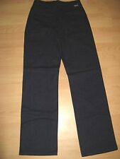 NEW MENS BOYS DK BLUE SONNETI FLANNEL CLASSIC STRAIGHT LEG TROUSERS 30 WAIST 34L
