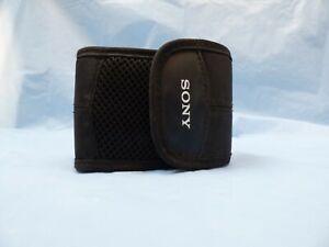 Original Sony Digital Photo Camera Pouch Case Cover Protection Bag Black Zipper