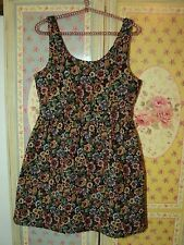 SALE  tapestry dress tempt divine vintage     10