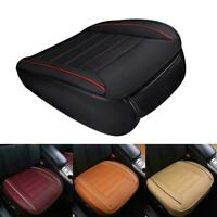 Universal Car Front Seat Cover Breathable Pads Auto Mat Chair PU Leather I5Z3