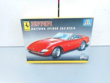Ferrari 250 Daytona Spider 3 1:24 Italeri 665 Model Car Kit Rare Unbilt Compleet