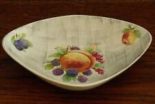 A James Kent Old Foley triangular oval fruit / nut dish 6407