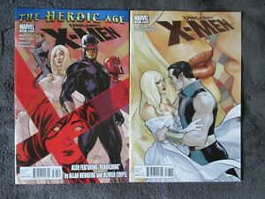 The Uncanny X-Men #526 & #527 NEW Marvel comics . Bagged Boarded.