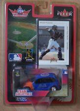 Fleer Team Collectible MLB New York Mets 2001 Mike Piazza Baseball Auto+Karte