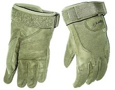 HEAVY DUTY SPECIAL OPS GLOVES cadets Army military ultra tough mens Medium olive