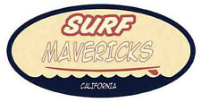 Surf Mavericks Vintage-Style Surfing Travel Decal