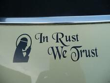 In Rust We Trust Sticker Rat Rod, Rat Look, Hoodride VW Volkswagen Old Skool