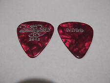 Beach Boys 50 Year Reunion 2012 ANDO Guitar Pick Red Pearl
