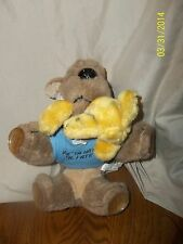 Mitchell West Suction Cup Dog Plush 1988