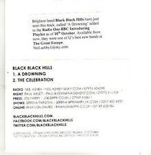 (CB421) Black Black Hills, A Drowning - DJ CD