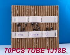 70 PCS 1J18B /1Ж18Б / RUSIAN MINIATURE TUBE HF PENTODE IN ORIGINAL BOX  MILITARY