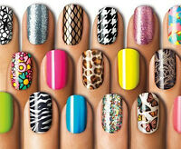 SALLY HANSEN SALON EFFECTS REAL NAIL POLISH STRIPS - PICK YOUR SHADE