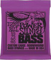 Ernie Ball 2831 Nickel Wound Power Slinky Electric Bass Strings (55-110)