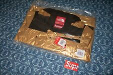RARE Size SMALL Supreme North Face Metallic Mountain Parka SS18 Gold S Jacket