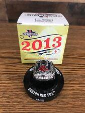 Boston Red Sox 2013 World Series Ring Replica SGA Fenway 05/28/2019 NEW IN BOX