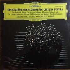 KARAJAN/ABBADO/BOHM/JOCHUM Opera Choruses 1977 OZ DGG EX/EX