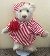 "Vintage Bialosky Treasury Jointed Bear 1997 Bedtime ""Charlie"" 14"" Mohair Bear!"