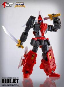 Machine Robo 11 Blue Jet | Action Toys