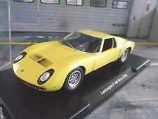 LAMBORGHINI P400 P 400 V12 Miura 1968 gelb yellow Fabbri Atlas Leo SP 1:24